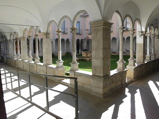 The Monastery of St. Stephen. The Cloister